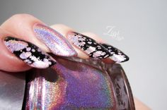 ZigiZtyle: Water Spotted Nails