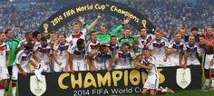 Germany crowned world champions for a fourth time