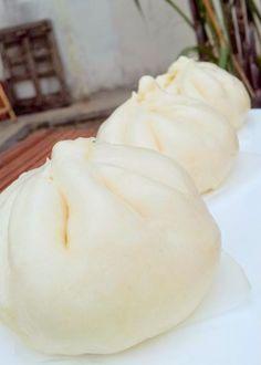 The Informal Chef: Basic Bao Skin Banh Bao Recipe, Siopao Recipe, Gimbap Recipe, Steam Buns Recipe, Bun Recipe, Vietnamese Recipes, Asian Recipes, Steamed Pork Buns, Gourmet