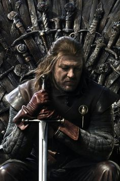 Eddard Stark: [to Renly Baratheon] I will not dishonor Robert's last hours by shedding blood in his halls and dragging frightened children from their beds.