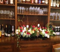 Floral arrangement, Table 52.  Alison Buck Floral Design