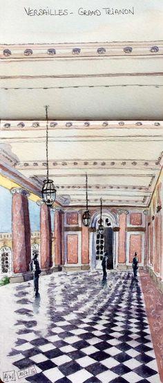 Versailles, colonnade du Grand Trianon