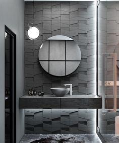 Restroom Design, Modern Bathroom Design, Bathroom Interior Design, Bathroom Toilets, Laundry In Bathroom, Bathroom Closet, Dream Bathrooms, Beautiful Bathrooms, Deco Cool