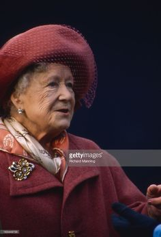 The Queen Mother attends the Grand Military Gold Cup. Held annually at Sandown…