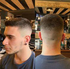 Hairstyle by @gentlemans_barbershop_lousada on instagram! Best Military Haircuts For Men