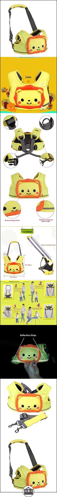 Arnés de seguridad para bebés - Animal de dibujos animados Arnés de seguridad para niños pequeños con tiras reflectantes, 3 en 1, la opción preferida de mamá  ✿ Seguridad para tu bebé - (Protege a tus hijos) ✿ ▬► Ver oferta: http://comprar.io/goto/B01N4870C2