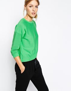 French Connection Spring Mozart Cropped Sweater | Static Multimedia > Gallery