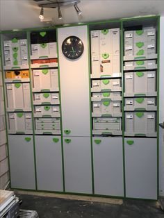 Festool workshop cupboards