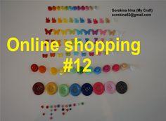 Online shopping #12 - Plastic buttons / Пластиковые пуговицы