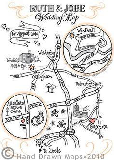 hand drawn map