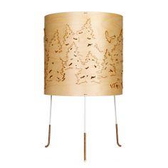 Norwegian Forest Table Lamp, Birch - Cathrine Kullberg - Northern Lighting - RoyalDesign.com