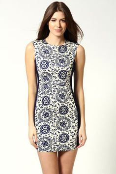 beautiful print...could be a good summer outfit