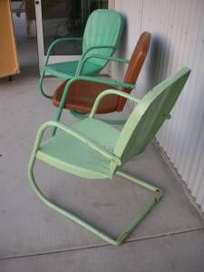 1000 Images About Motel Chairs On Pinterest Gliders Vintage Metal And Met