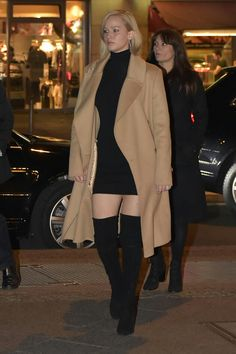 Jennifer Lawrence Style, Jennifer Aniston, Jennifer Laurence, Stiletto Boots, Celebs, Celebrities, Street Style Looks, Hunger Games, Ethereal