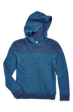 Tucker + Tate Nep Stripe Double Knit Hoodie (Toddler Boys, Little Boys & Big Boys) available at #Nordstrom