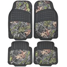 BDK Camouflage 4 Piece All Weather Waterproof Rubber Car Floor Mats - Fit Most Car Truck SUV, Trimmable, Heavy Duty - *** Learn more by visiting the image link. (This is an affiliate link) Rubber Floor Mats, Rubber Flooring, Car Mats, Car Floor Mats, Camo Truck, Cute Car Accessories, Suv Trucks, Cute Cars, Black Rubber