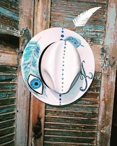 psathimo kapelo panama zografismeno mati-oneiropagida Handmade Accessories, Handmade Shop, Panama, Cowboy Hats, Shopping, Panama Hat, Panama City