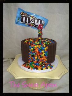 """- This was my first """"Gravity Cake""""."""