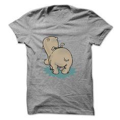 Hippo Rear Tshirts