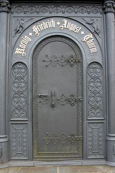 Metal door, Germany