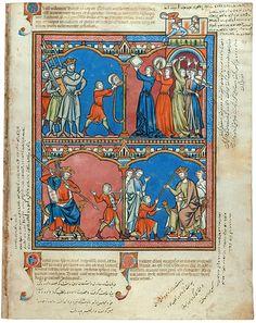 The Morgan Library & Museum Online Exhibitions - Morgan Picture Bible - Folio 29r