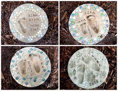 Sassy Sanctuary: Little Feet Stepping Stones