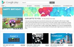 Google Play celebrates its first birthday with special deals