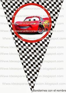 Ideas para la decoración de Fiestas Infantiles: Kit Cars
