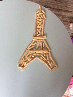 Eifel toren van stokjes