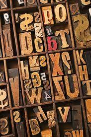 wooden type blocks - Google Search