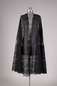 Evening cape Design House: Callot Soeurs  (French, active 1895–1937) Designer: Madame Marie Gerber (French) Date: winter 1924–25 Culture: French
