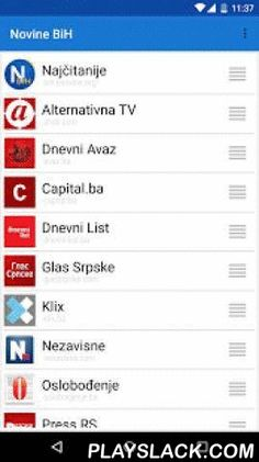 Novine BiH  Android App - playslack.com ,  Novine BiH enables you to read all daily newspapers from Bosnia and Herzegovina from one place.Currently supported newspapers:- Alternativna TV- Capital.ba- Dnevni Avaz- Dnevni List- Glas Srpske- Klix- Nezavisne- Oslobodjenje- Press RS- Sport.ba- Vecernji List