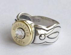 Winchester 38 Special Bullet  Ring Sterling by OnTargetJewelry
