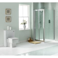 Bifold Shower Enclosure 900 - Now £219. www.victoriaplumb.com