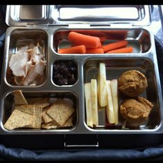 Planet box lunch today, with sweet potato muffins