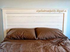 #DIY Wooden #Headboard | Polka Dots and Paisley