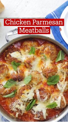 Ground Beef Recipes For Dinner, Dinner Recipes, Chicken Parmesan Meatballs, Cooking Recipes, Healthy Recipes, Meat Recipes, Food Dishes, Beef Dishes, Diy Food