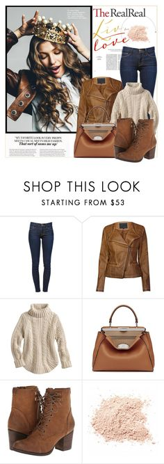 """""""My favorite look!"""" by claud-637 ❤ liked on Polyvore featuring Frame Denim, Lavand., Fendi and Madden Girl"""