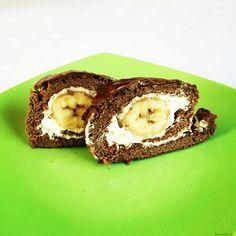 18. Zdravá banánová roláda - FitRecepty