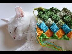 Wonderful DIY Lovely Rainbow Patch Knitted Socks