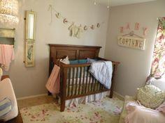 Eclectic Girl Nursery