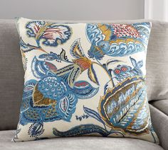 Merion Palampore Pillow Cover | Pottery Barn