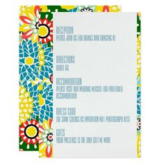 Choose from thousands of customizable wedding invitation templates or create your own from scratch. Gerbera Wedding, Daisy Wedding, Diy Wedding Flowers, Wedding Sets, Wedding Cards, Wedding Colors, Wedding Templates, Wedding Invitation Templates, Invitation Card Design