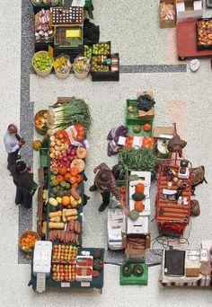 Post-production work  ::      Indoor farmers market, CBC atrium   By BruceK