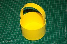 Купила я новый для себя материал под названием пенка. Здесь http://stranamasterov.ru/node/523567 в Стане Мастеров узнала, что он называется фоамиран. И решила сделать из него в подарок пасхальную корзинку.  фото 3