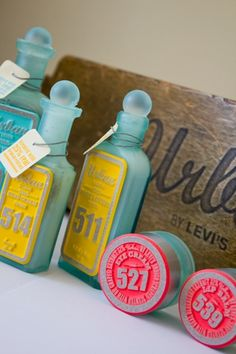 Student Spotlight: Levi's Bath and Body - TheDieline.com - Package Design... #packaging