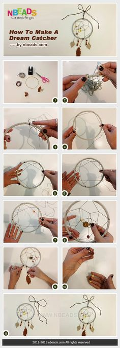 how to make a dream catcher! i've been waiting my whole life for this pin to come along! i sense lovely gifts to give in my future.: