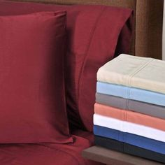 Superior 300 Thread Count Modal from Beech Pillowcase Set , Solid, Beige