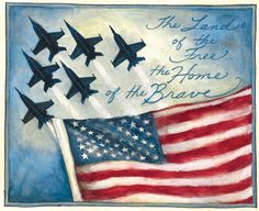 Am feeling very blessed to live in the land of the FREE and the home of the BRAVE!