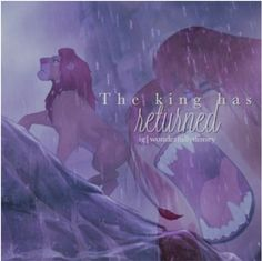 Day 25-- Favorite Scene From Your Favorite Movie: When Simba returns to Pride Rock. So epic. Gives me chills.
